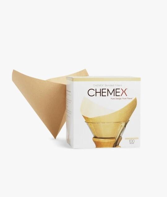 Filtros de Papel Natural para CHEMEX  100 Unds