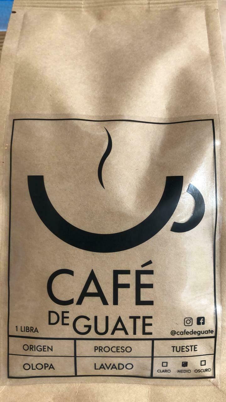 CAFE DE GUATE OLOPA CHIQUIMULA 454 GRS.