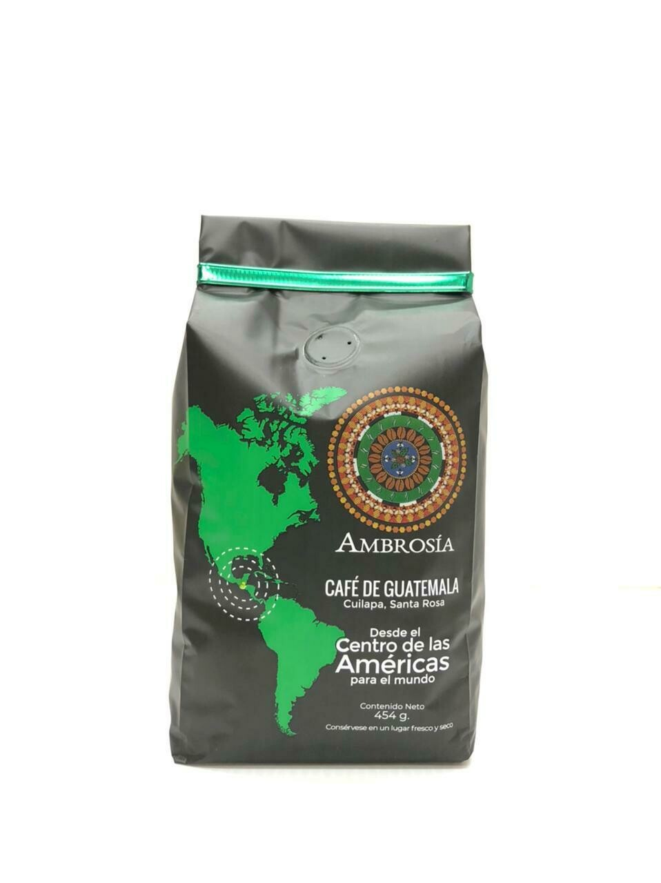 CAFÉ AMBROSIA CUILAPA SANTA ROSA  454 GRS.