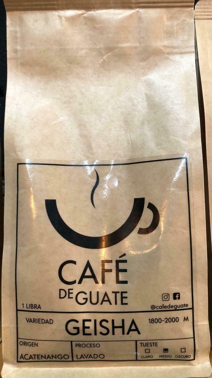 CAFE DE GUATE GEISHA ACATENANGO 454 GRS.