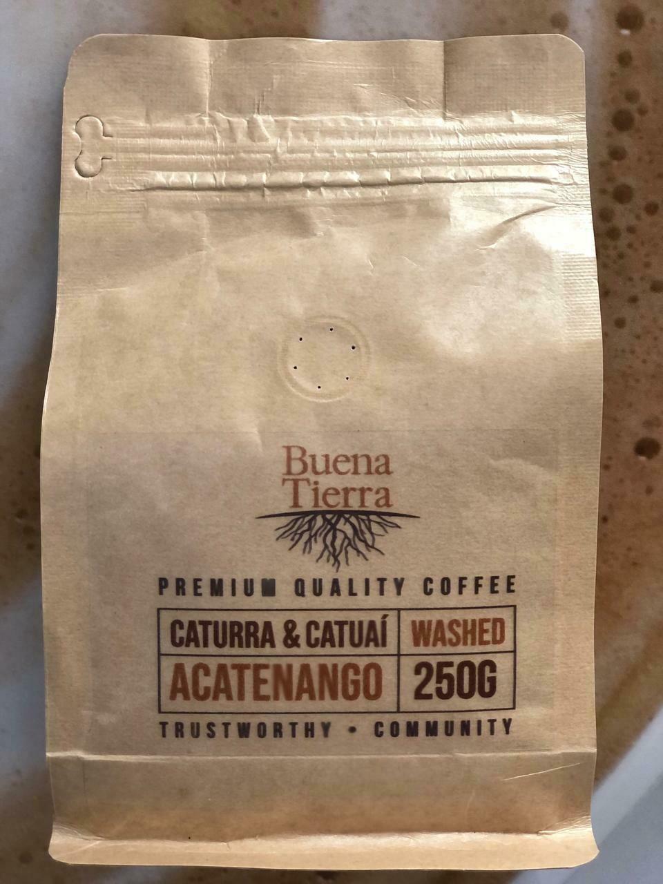 BUENA TIERRA COFFEE ACATENANGO WASHED/250GRS
