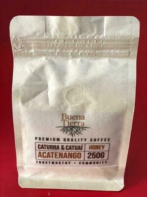 BUENA TIERRA COFFEE ACATENANGO HONEY/250GRS