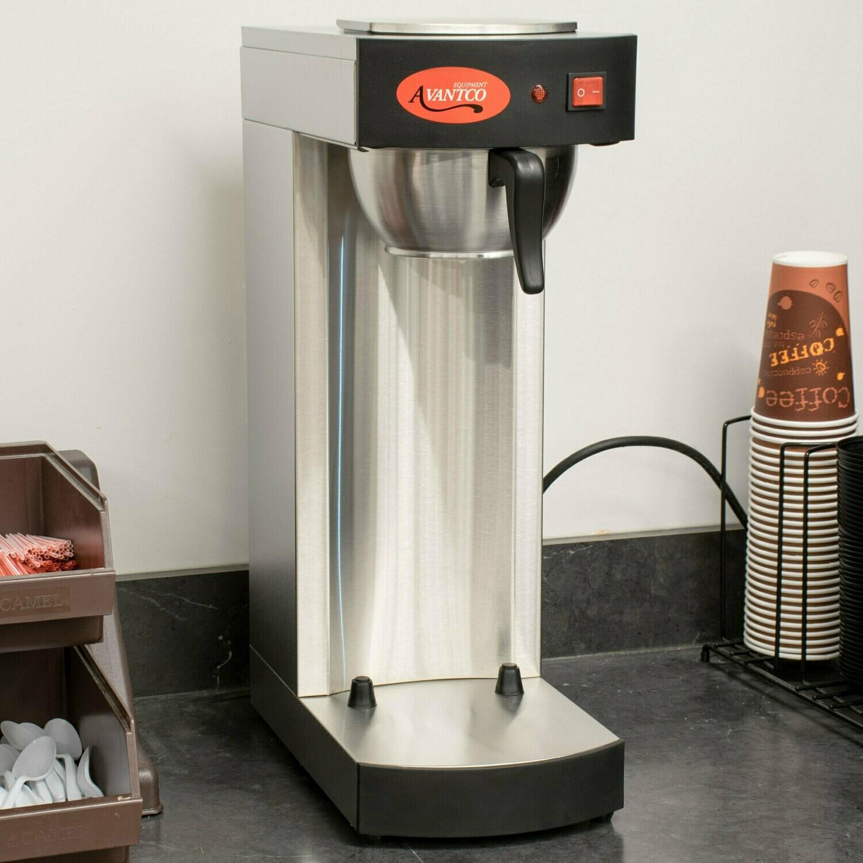 Avantco C15 Pourover Airpot Coffee Brewer - 120V 15 tazas (preparar café negro)