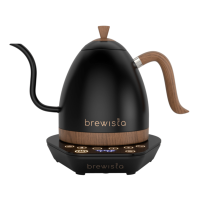 Artisan Electric Kettle 1L  Negro mate y madera