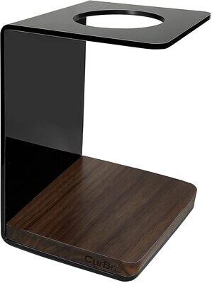Soporte para cafetera y organizador compatible con Hario V60, Kalita Wave y Clever Dripper