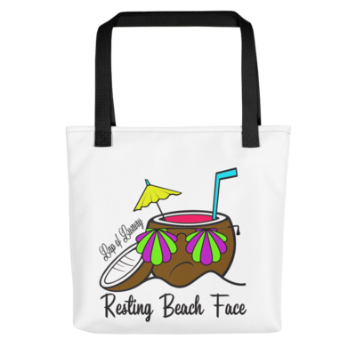 Resting Beach Face Bag