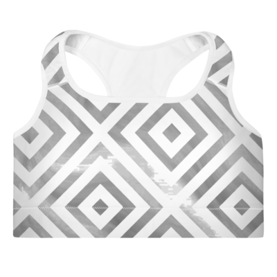 Black Diamonds Sports Bra