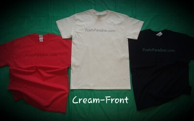 Poets Paradise T-Shirt (Cream)