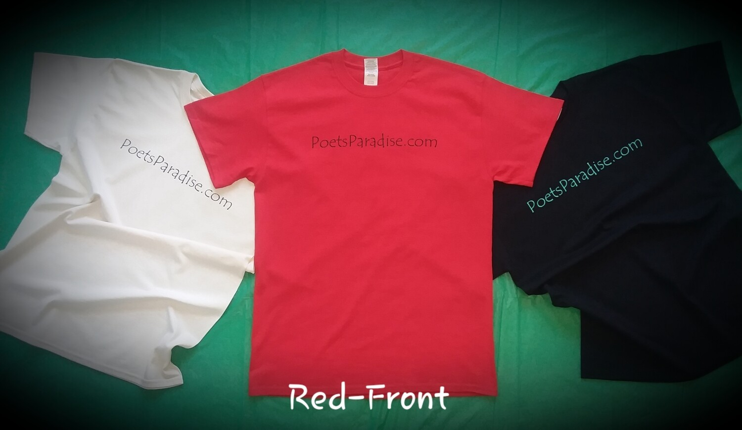 Poets Paradise T-Shirt (Red)