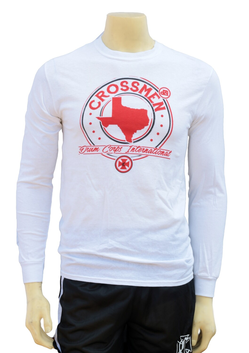 White Texas Long Sleeve