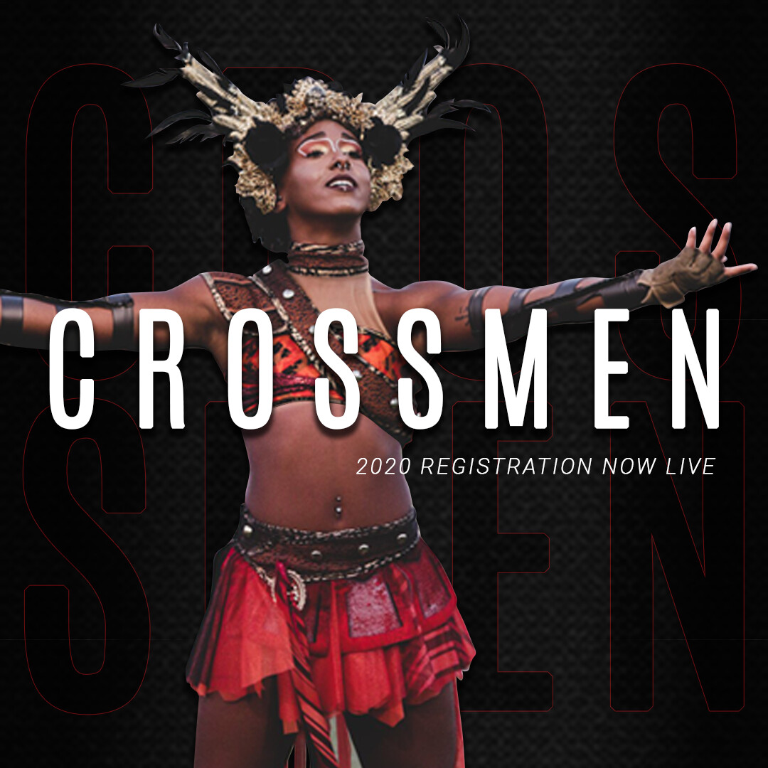 2020 Crossmen Annual Registration Fee w/ Audition Packet - Colorguard