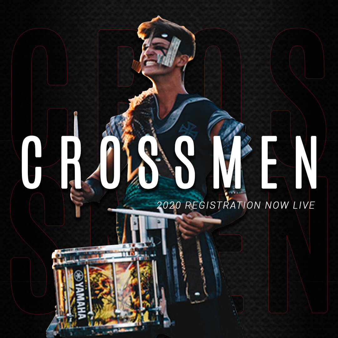 2020 Crossmen Annual Registration Fee w/ Audition Packet - Battery