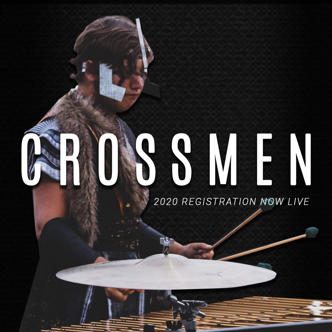 2020 Crossmen Annual Registration Fee w/ Audition Packet - Front Ensemble