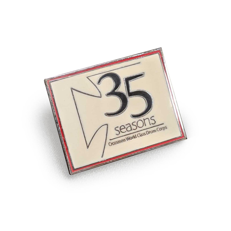 35th Anniversary Pin