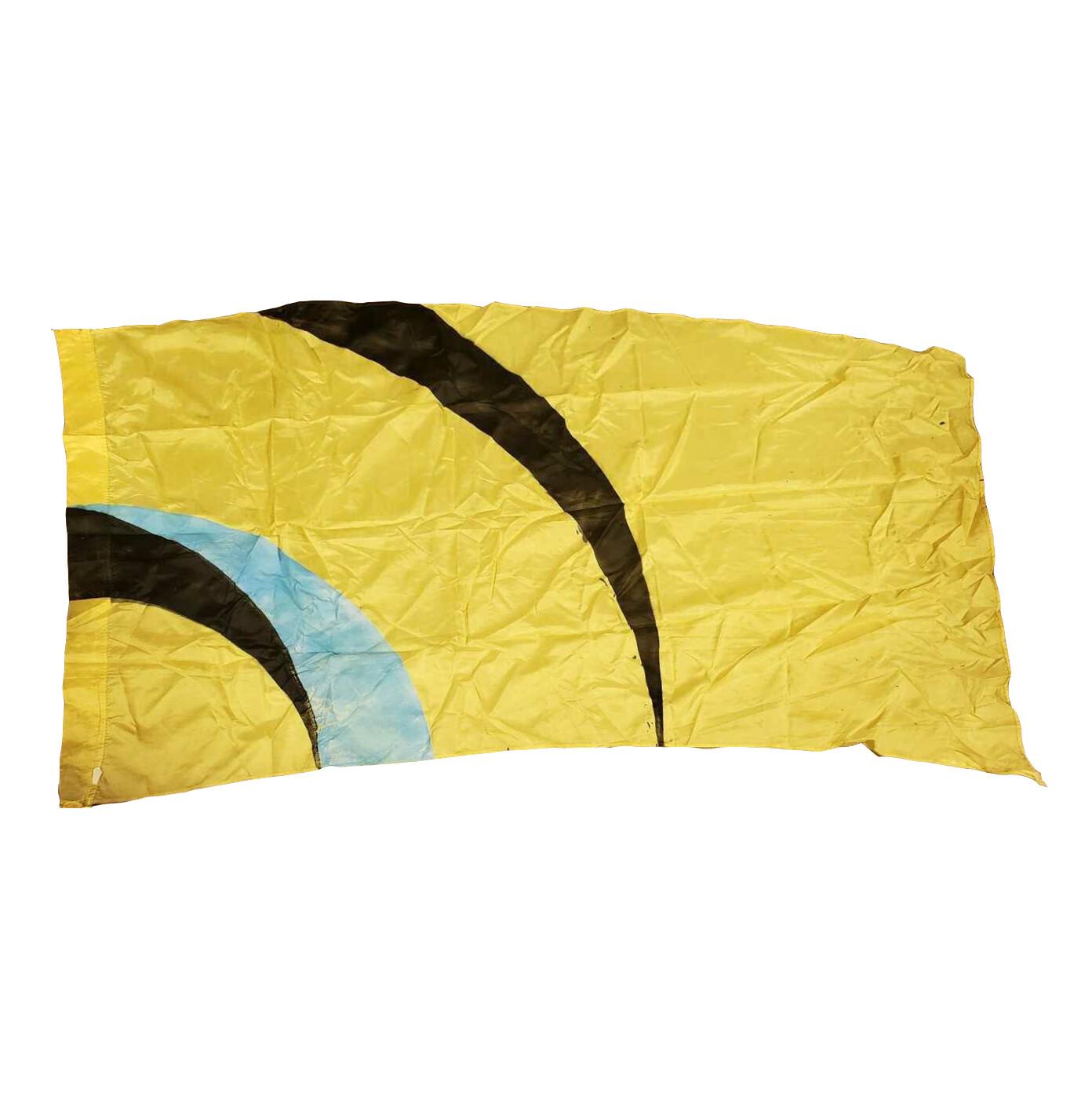 Yellow Half Circle Flag (2010)