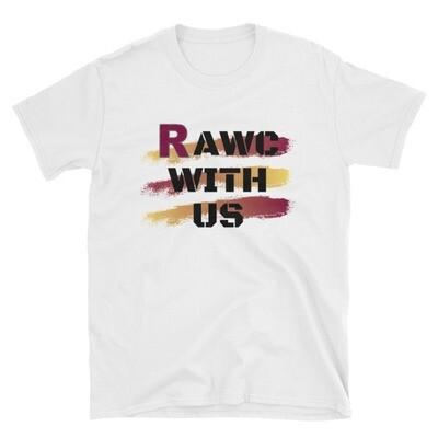 RAWC with us - Unisex White