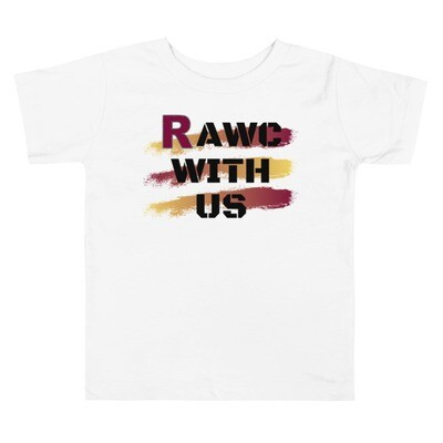 RAWC With Us - Toddler's Black Font