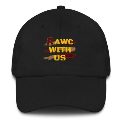RAWC With Us - Yellow Font Hat