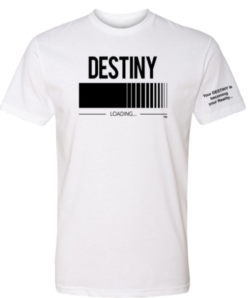 DESTINY Loading T-Shirt Unisex White