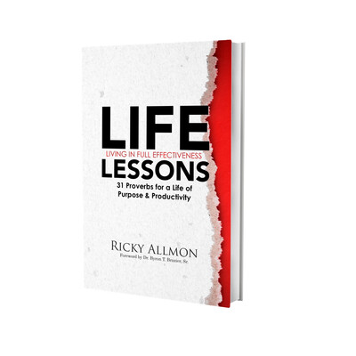LIFELessons Book by Ricky Allmon
