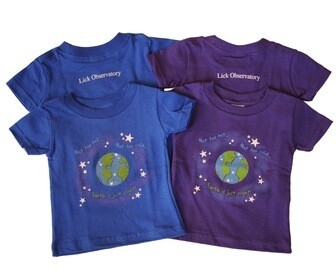 Goldilocks Zone T-shirt, Infant - Toddler -- Glows in the Dark!