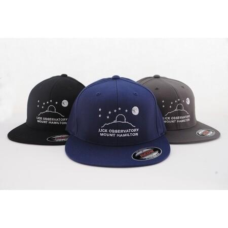 Lick Observatory Ball Cap - Flat Brim