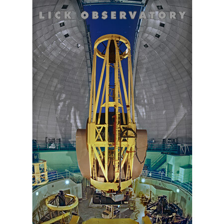 Lick Observatory Shane 120-inch Reflector Magnet