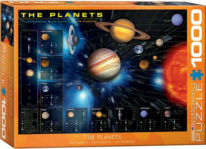 The Planets -- 1000 piece Jigsaw Puzzle