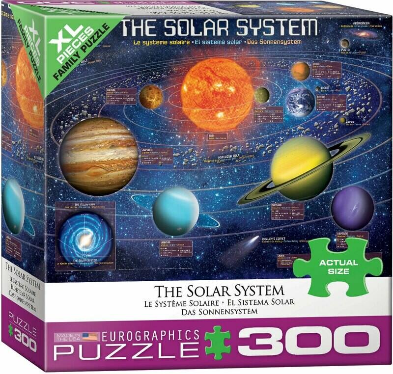 Solar System -- 300 piece Jigsaw Puzzle