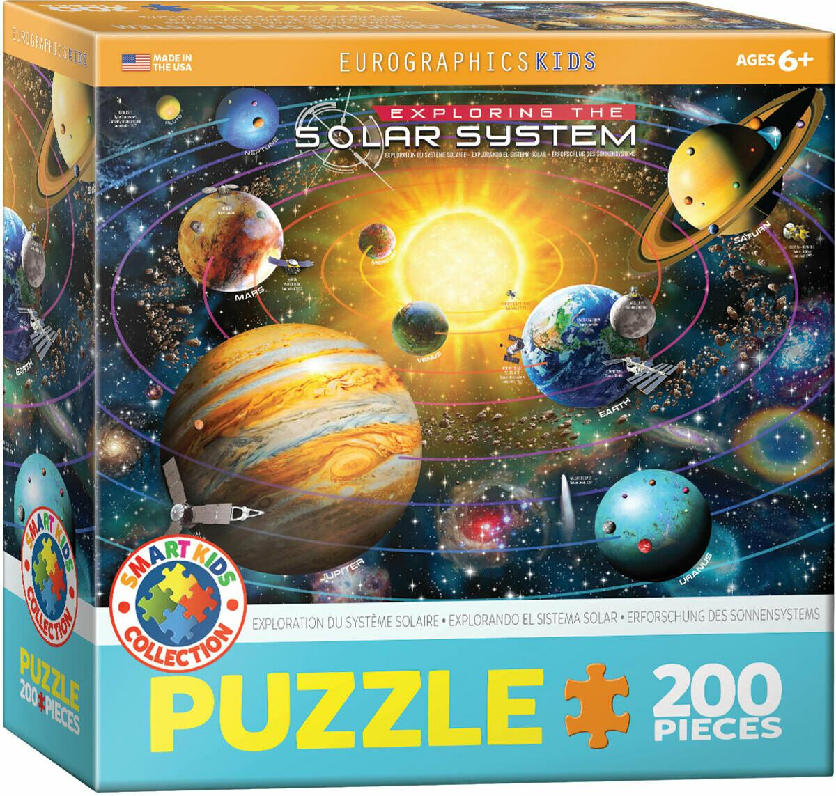 Solar System -- 200 piece Jigsaw Puzzle