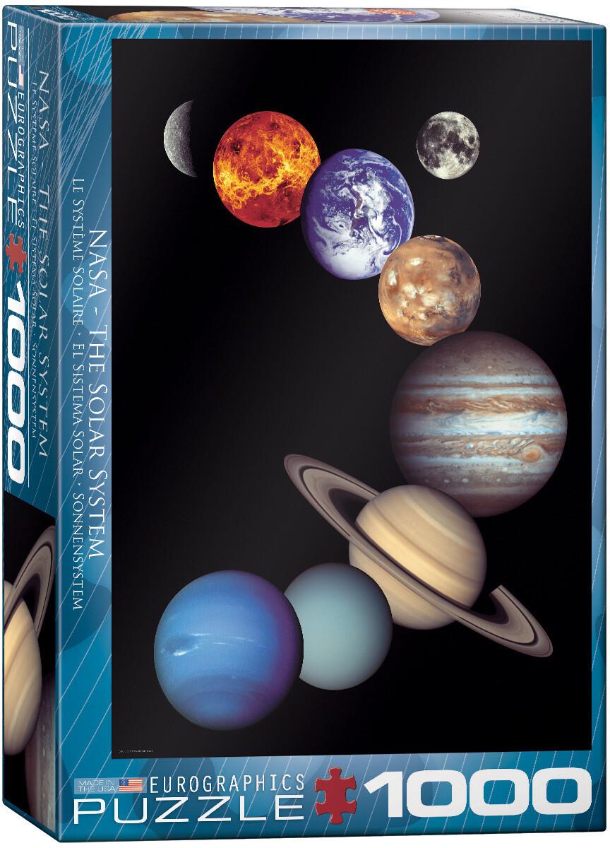 NASA Solar System -- 1000 piece Jigsaw Puzzle