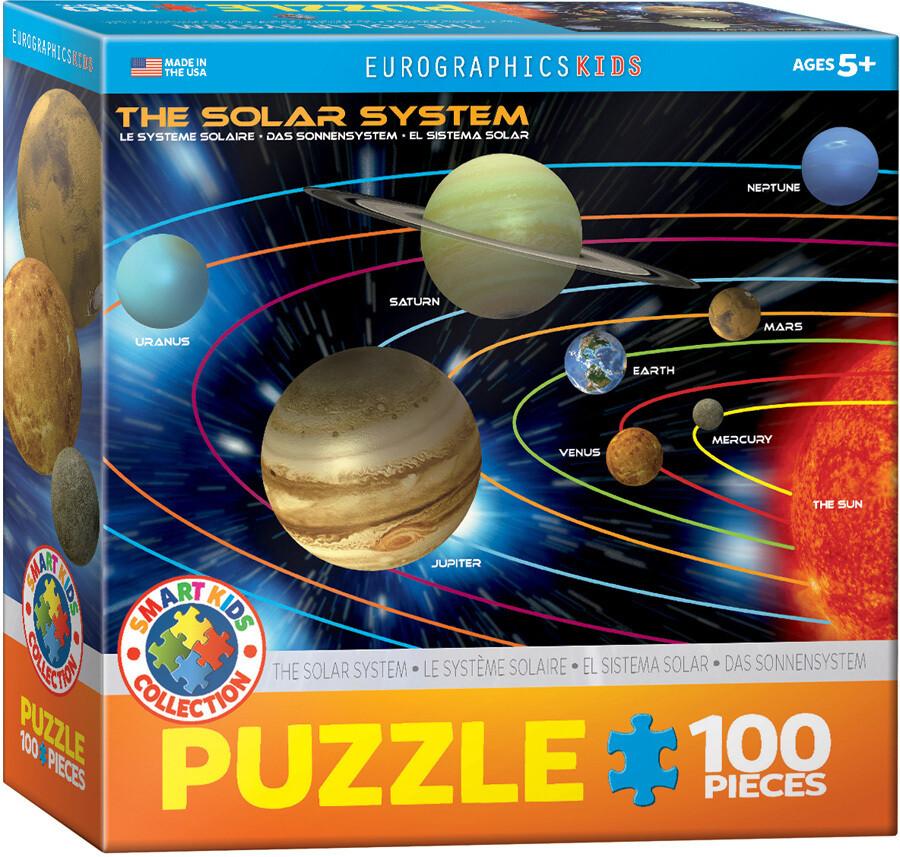 Solar System -- 100 piece Jigsaw Puzzle