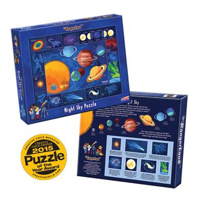 Night Sky -- 48 piece Jigsaw Puzzle