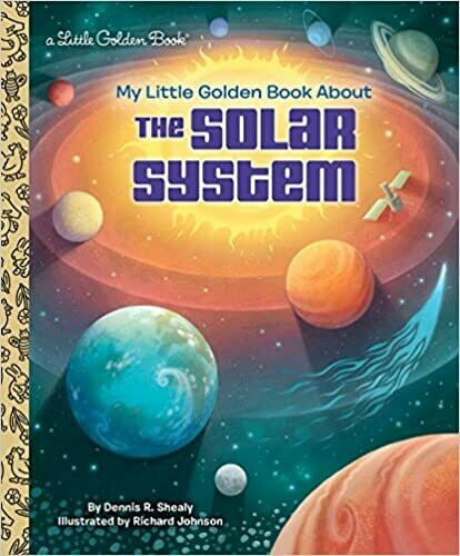 My Little Golden Book of The Solar System
