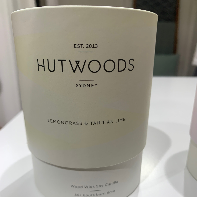 Hutwoods Candle - Nectarine & Mint
