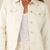 Amelius Alliance Denim Jacket - Cream