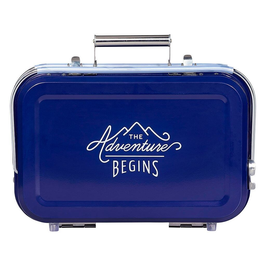Gentleman's Hardware Portable BBQ - Blue