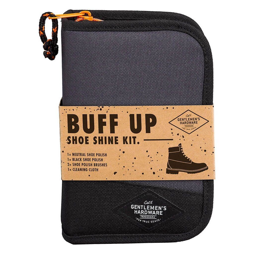 Gentlemen's Hardware - Buff Up - Shoe Shine Kit