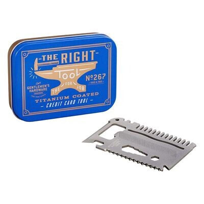 Gentlemen's Hardware - The Right Tool, Credit Card Tool