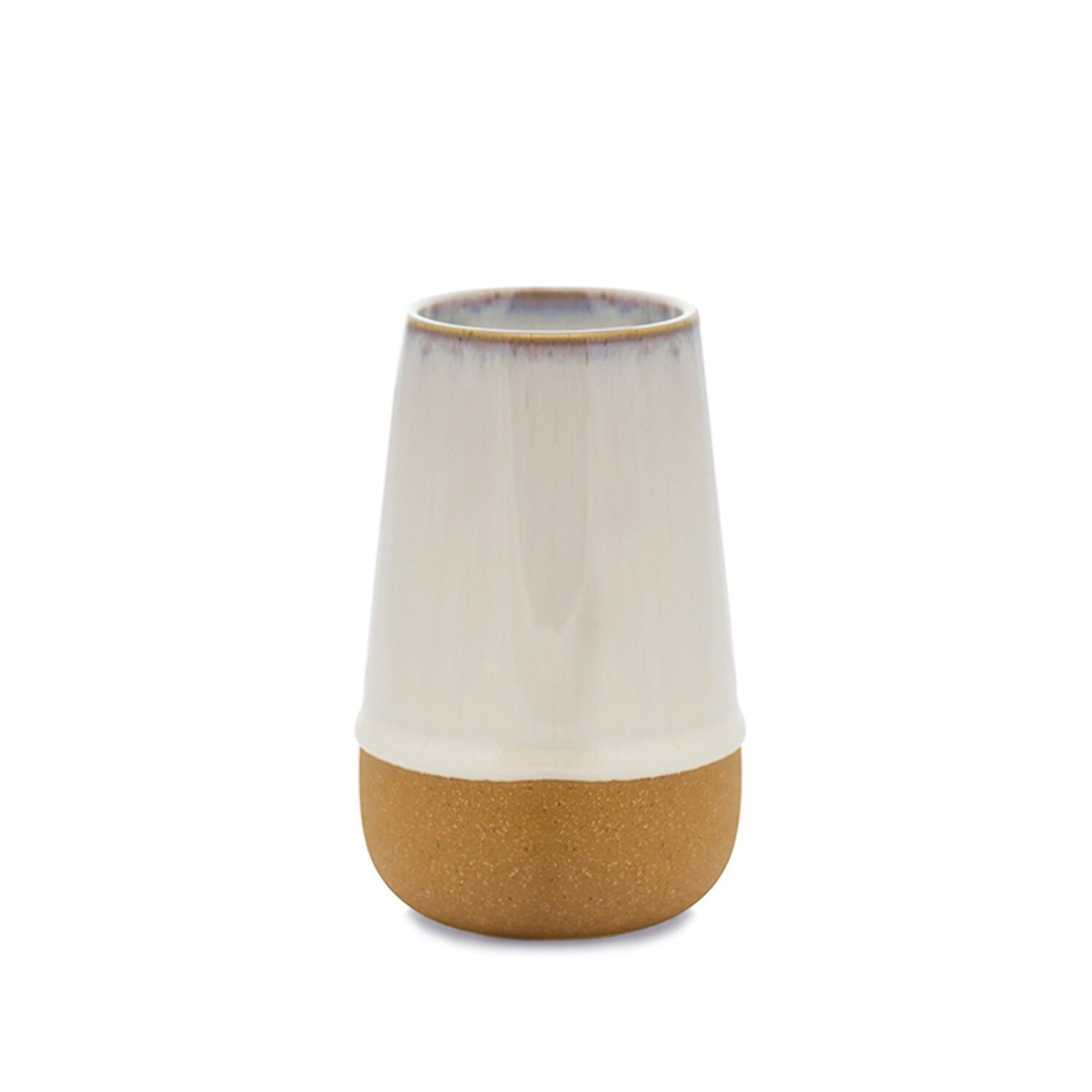 KIN White Ceramic Soy Wax Candle - Jasmin and Bamboo