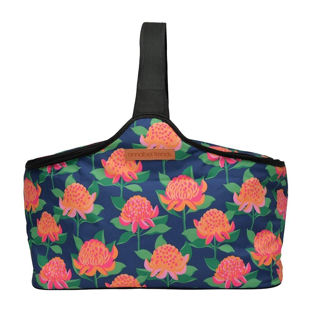 Picnic Cooler Bag - Bright Waratah