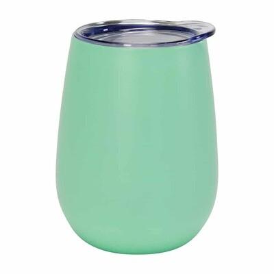 Wine Tumbler – Double Walled – Stainless Steel - Gelato Mint