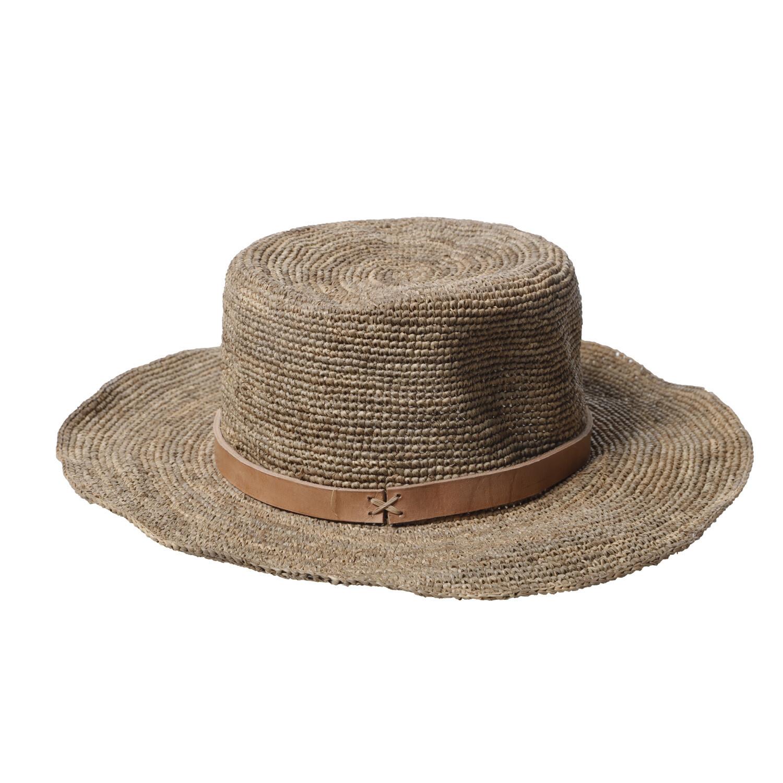 Gaston Hat - Medium brim - Tea