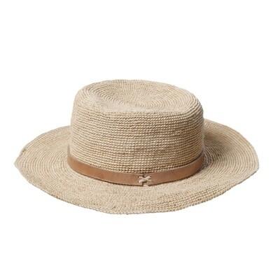 Gaston Hat - Medium brim - Natural