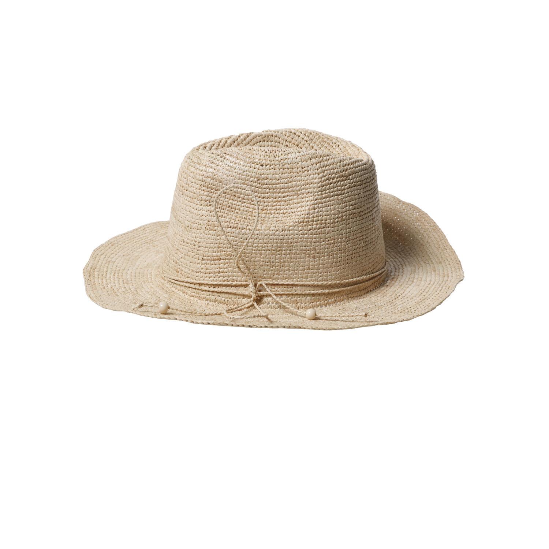 Elya Hat - Natural - Medium brim