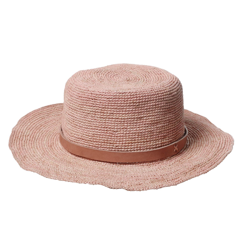 Gaston Hat - Medium brim - Light Pink