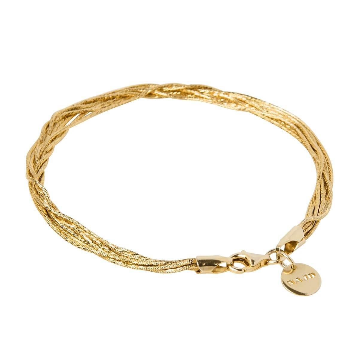 Najo Como Multi-Strand Bracelet - 14 karat Yellow Gold