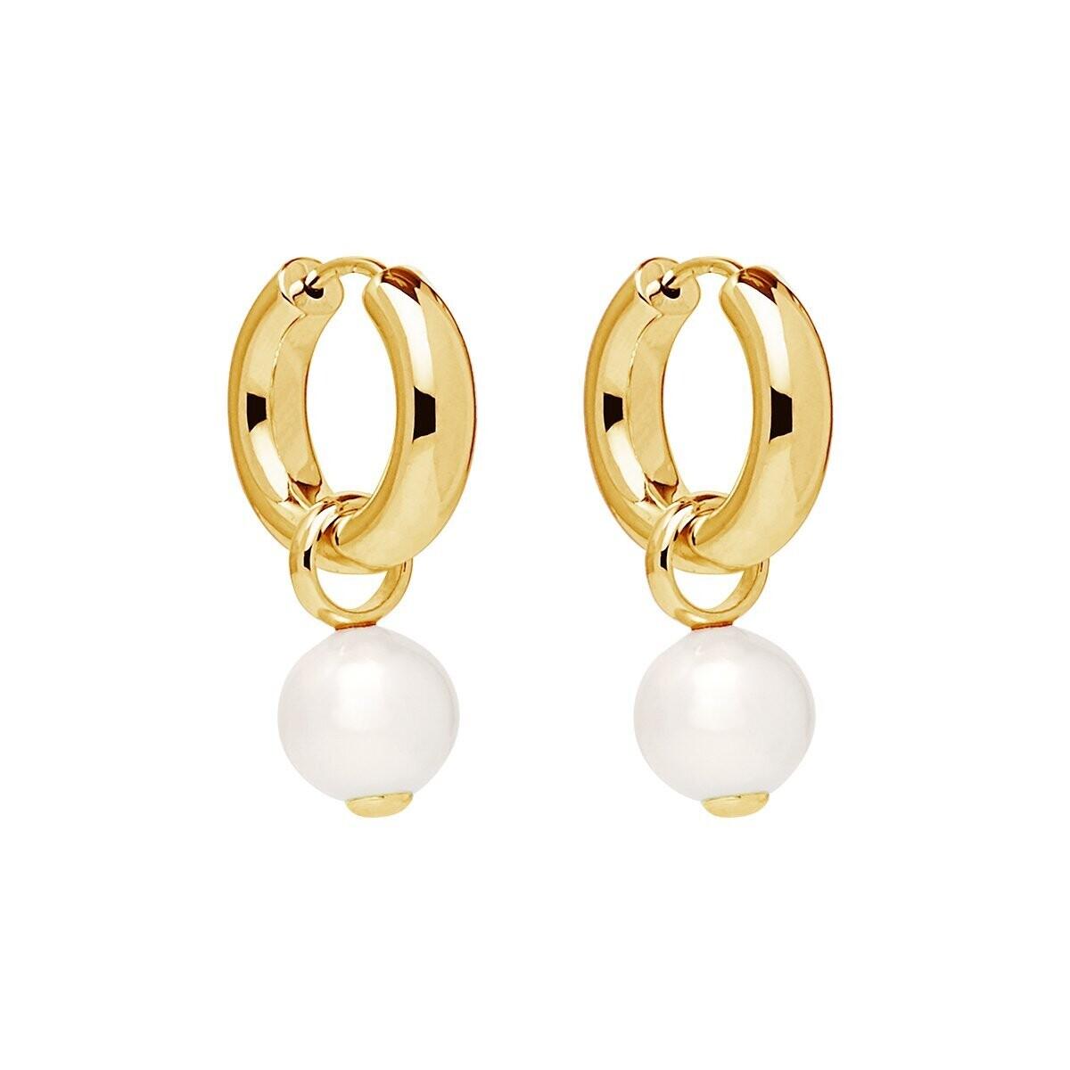 Najo - Ms Perla Yellow Gold Earring