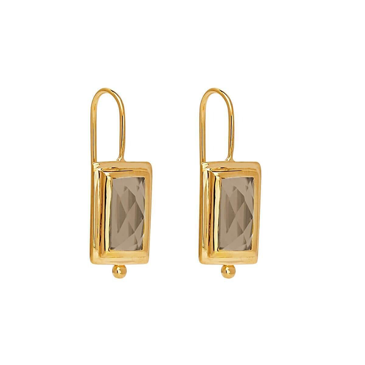 Najo - Desire Smoky Quartz Earring
