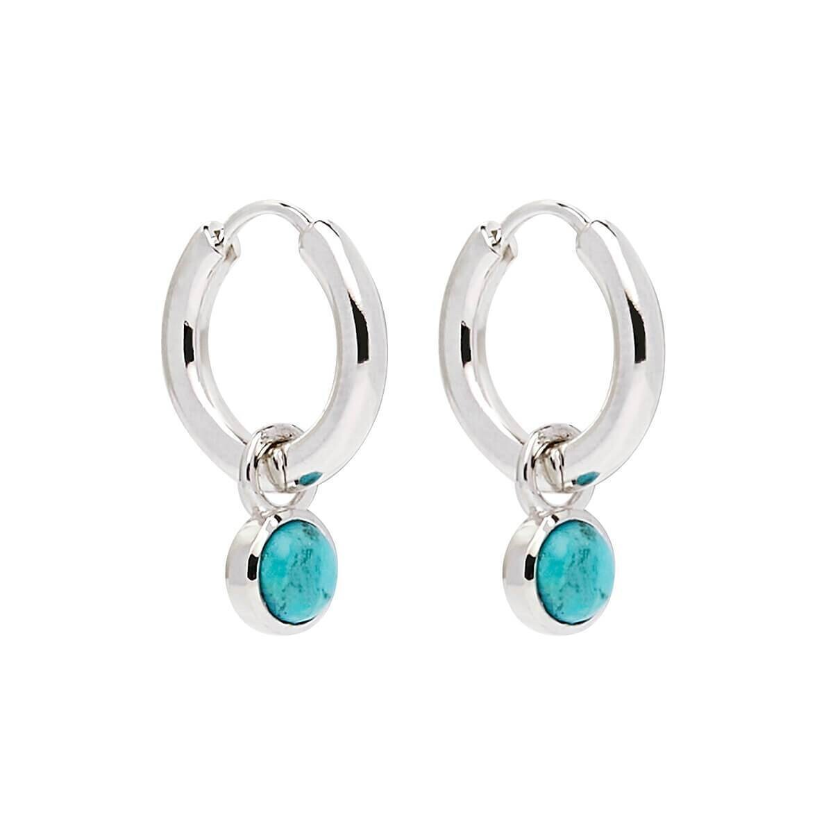 Najo - Heavenly Turquoise Silver Earring